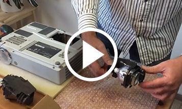 Відео заміни Panasonic